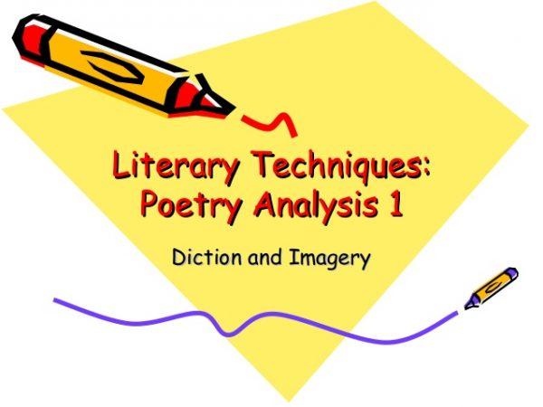 How to write a poem analysis essay?